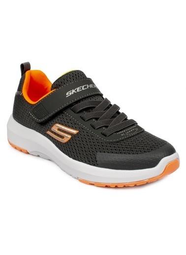 Skechers Unisex Çocuk Gri Dynamıc Tread Spor Ayakkabı 98151L-CCOR-34 Gri